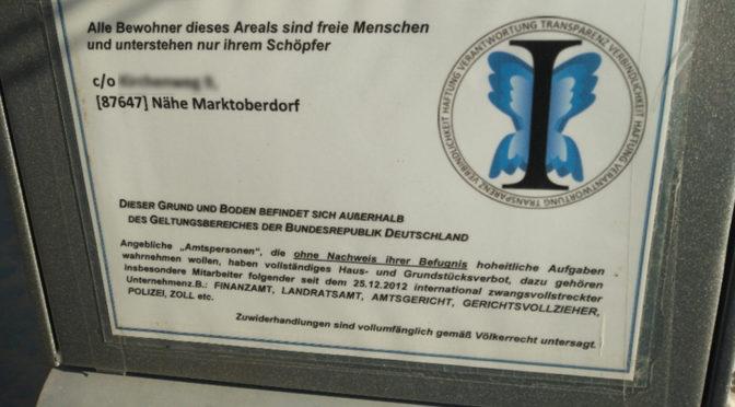 313 Reichsbürger identifiziert