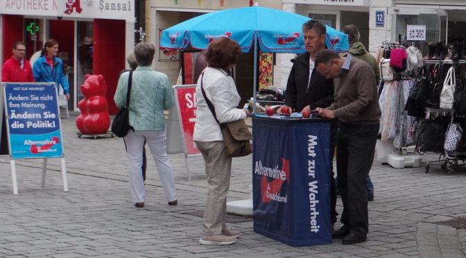 AfD will Wahlkreisbüro im Oberallgäu