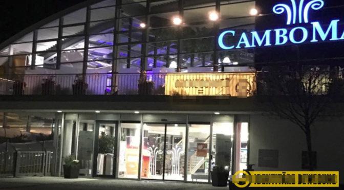 Rassistisches Banner an Cambomare Kempten
