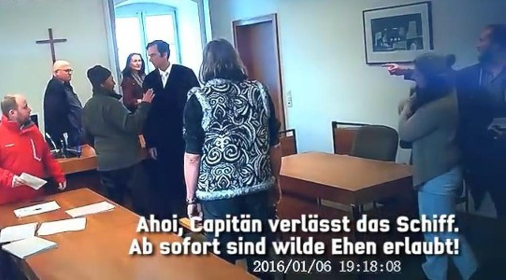 Reichsbürger bedrohen den Staatsanwalt am Amtsgericht Kaufbeuren.