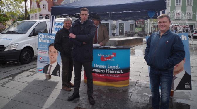 Die Kandidaten der AfD Memmingen für Bezirks- und Landtagswahl