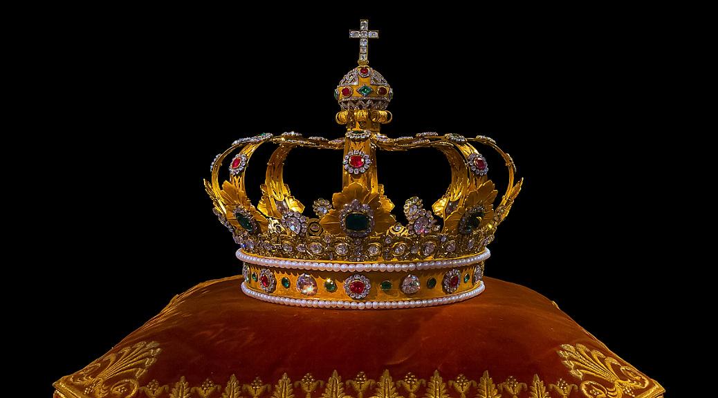 Krone des Königreichs Bayern (Schatzkammer der Münchner Residenz, 2013)