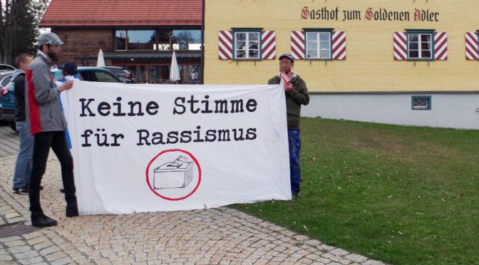 Neues Bündnis protestiert gegen AfD und Rassismus