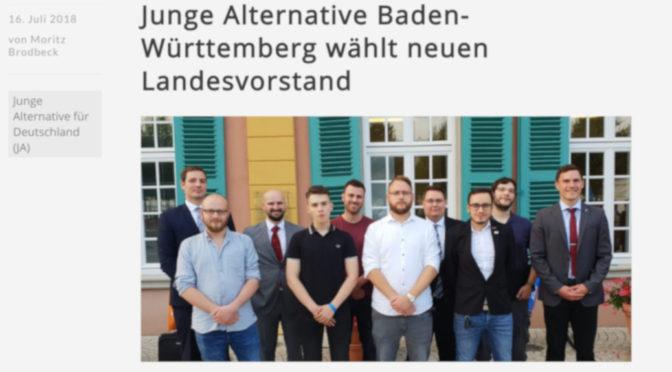 Me Against The World-Gitarrist Lukas Battenberg wurde am 14. Juli auf dem achten ordentlichen Landeskongress der Jungen Alternative Baden-Württemberg (JA) in Schwetzingen zum Beisitzer im neuen Landesvorstand gewählt.