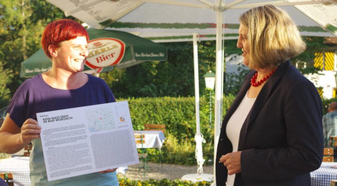 Petition gegen Naziumtriebe im Westallgäu übergeben