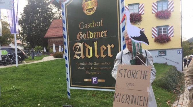 »Unser Allgäu bleibt bunt«: Breites Bündnis zeigt Flagge