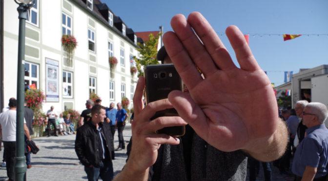 AfD im Allgäu behindert Journalisten
