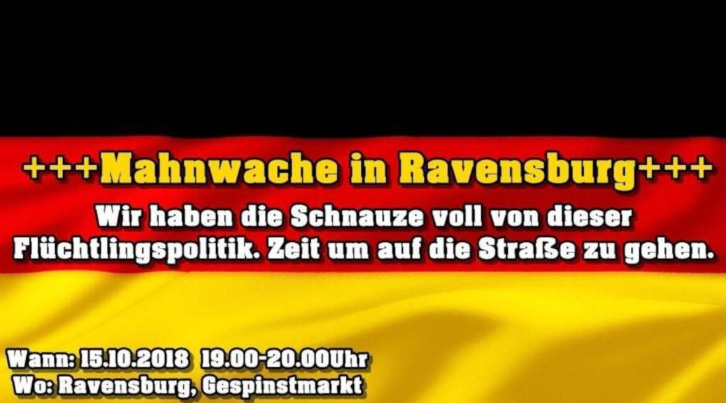 Rechtsradikale wollen die Messerattacke eines jungen Syrers in Ravensburg für rassistische Stimmungsmache instrumentalisieren.