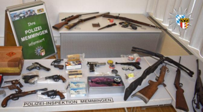 Polizei hebt rechtes Waffenlager aus