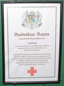 Das »Betreten für Unbefugte, insbesondere vom Personal der BRD« will der selbsternannte Bundesstaat Bayern auf seinem Staatsgebiet gerne verbieten. EIn entsprechendes Dokument wurde bei der Razzia an mehreren Objekten aufgefunden. (Bild: Polizei Bayern)