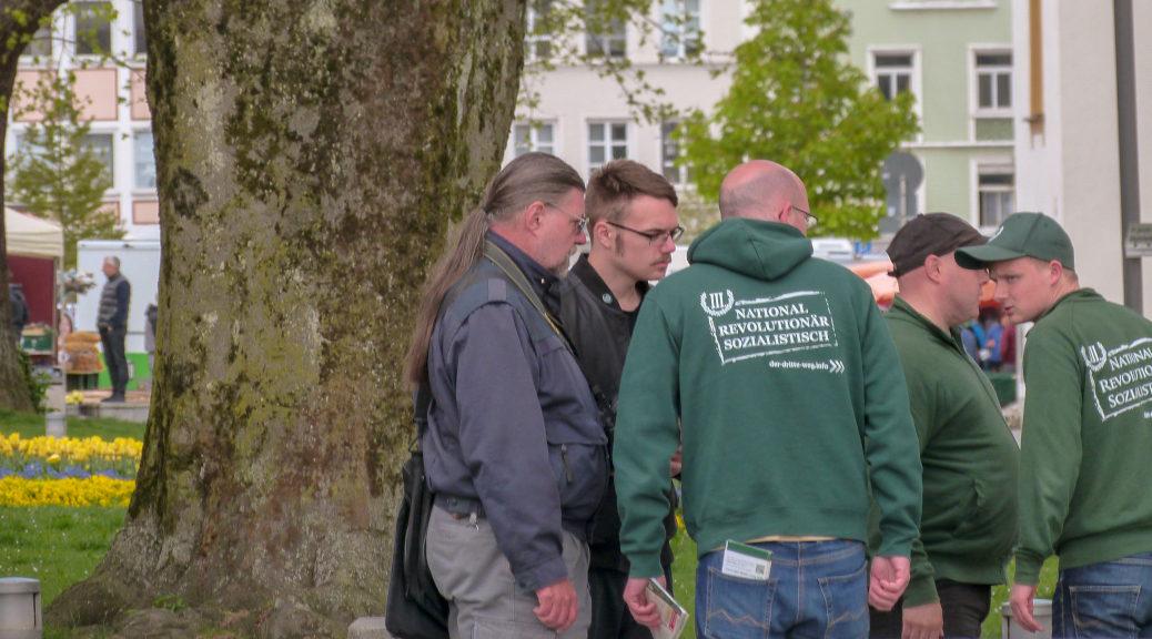 Ohne Unterstützung unter anderem aus dem Raum München geht es nicht: Der Dritte Weg versammelt sich in Kempten.