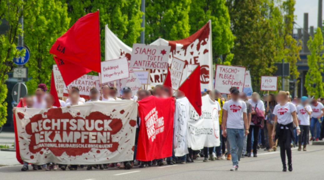 Gegen den europaweiten Rechtsruck demonstrieren am Samstag rund 160 Menschen durch Memmingen.