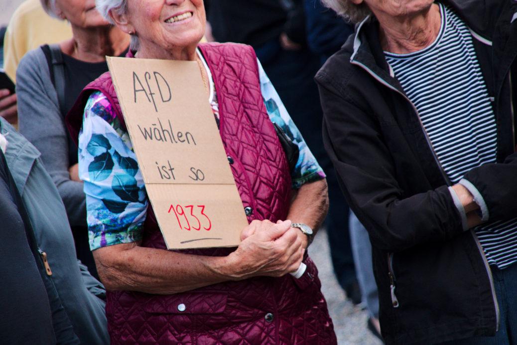Wo wird die AfD Listen zur Kommunalwahl aufstellen oder ihre Bewerber in andren Listen unterbringen können? Ein neuralgischer Punkt - für Partei und Gesellschaft. (Photo: Keine Stimme für Rassismus)