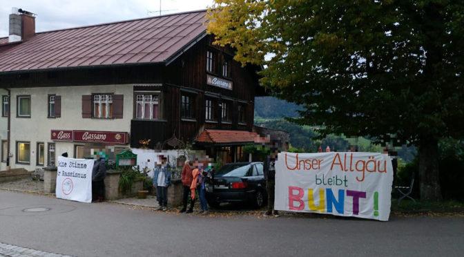 Dauerprotest gegen Stammlokal der AfD