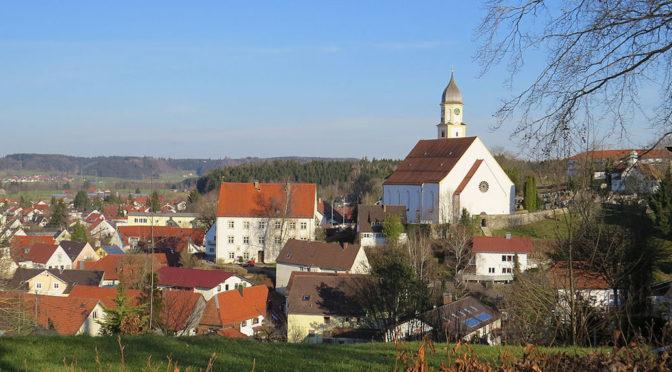 Nicht alles an der Marktgemeinde Bad Grönenbach passt zu dem idyllischen Bild, das ihre Marketingabteilung zeichnet (CC BY-SA 4.0 Flodur63).