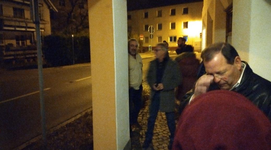 Spitzenkandidaten und Funktionäre der AfD, darunter Tatjana Preuss, musste am 14. November auf Grund einer vorangegangenen Störaktion der Zutritt zu einem Vortrag über die kommunalpolitischen Ambitionen der AfD verwehrt werden. Teils reagierten sie aggressiv und uneinsichtig.