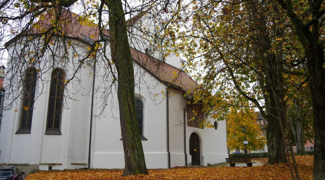 Die Kinderlehrkirche der St. Martins Gemeinde in Memmingen.