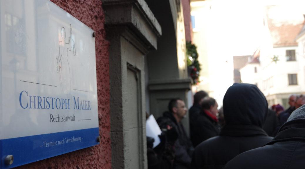 Heute unterhält der AfD-Landtagsabgeordnete Christoph Maier seine Kanzlei in der Kalchstraße 11, wo einst Martha und Benno Rosenbaum wohnten.