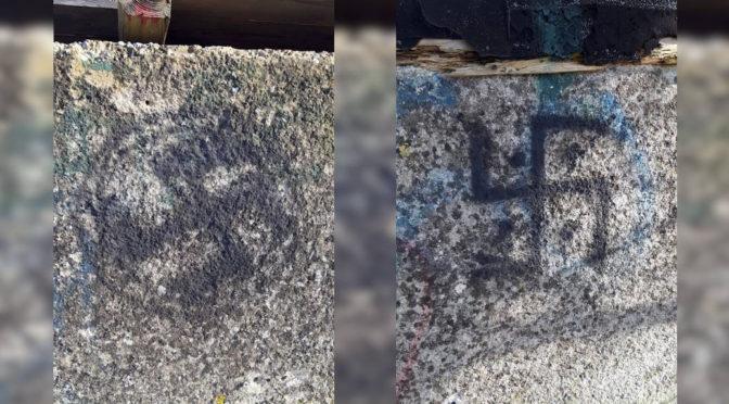 Nazi-Schmierereien am Blasius