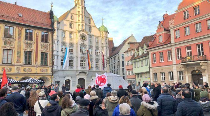 So reagiert das Allgäu auf den rassistischen Terror in Hanau
