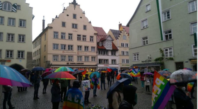 Kundgebung gedenkt der Befreiung Lindaus vom NS-Regime
