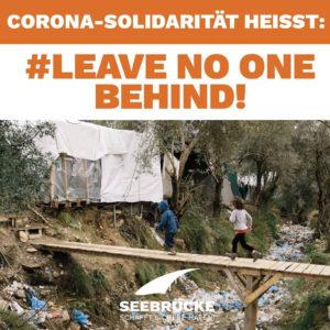 Für die Seebrücke Wangen gilt Solidarität gerade in Zeiten der Corona-Pandemie ausdrücklich auch für Geflüchtete.