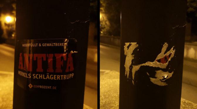 Rechtsradikale Propaganda in Weingarten