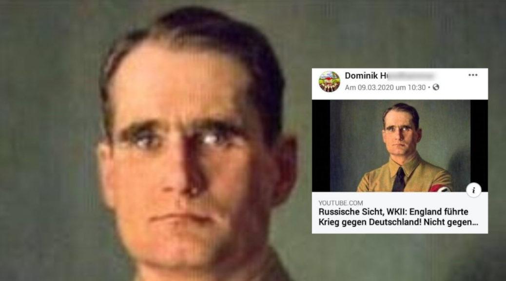 Bewohner des Mutterhof teilen in sozialen Netzwerken schon seit Jahren rechte Propaganda. (Screenshot Facebook)