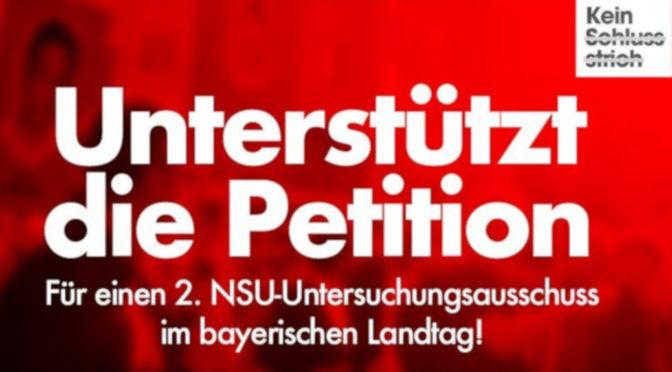 Überlebende fordern weiteren NSU-Untersuchungsausschuss