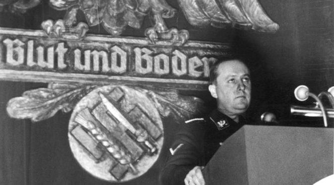 NS-Propaganda bei »Blitzer und Bullen Oberstdorf«