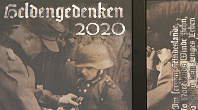 »Heldengedenken«: Voice of Anger huldigt NS-Tätern