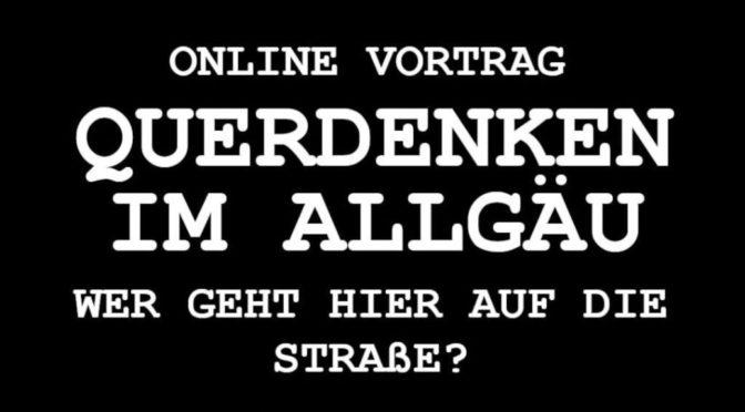 Online-Vortrag: Querdenken – Wer geht hier auf die Straße?