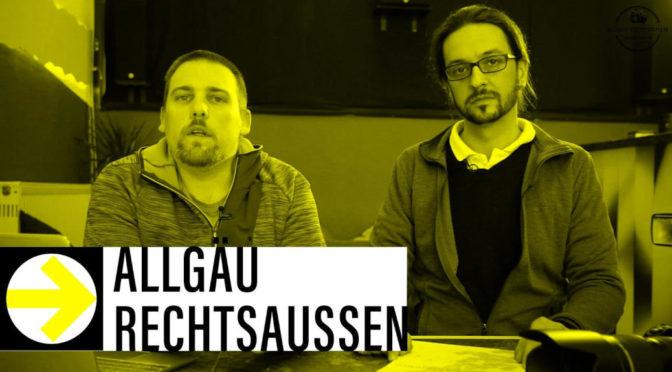 Livestream: Was machen Nazis hier?! Querdenken im Gespräch bei Allgäu rechtsaußen