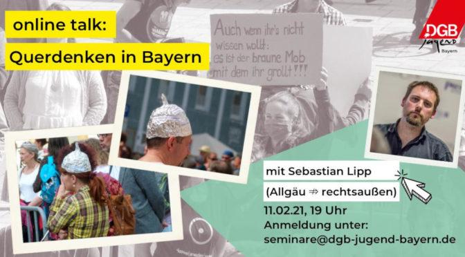 Online-Talk: Querdenken in Bayern