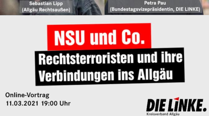 Online-Vortrag: NSU und Co. – Rechtsterroristen und ihre Verbindungen ins Allgäu