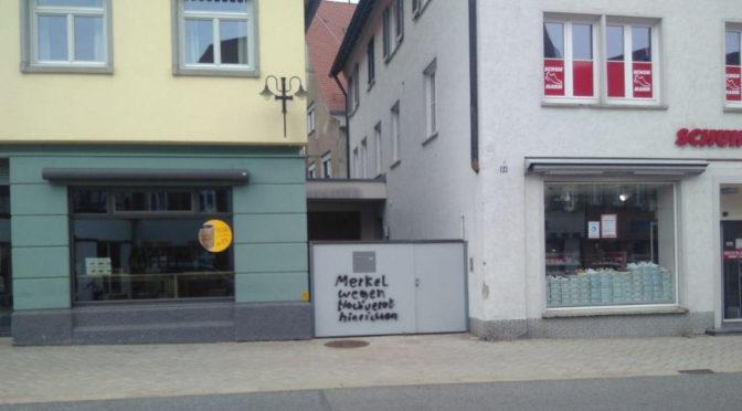 Schmierer fordert, Merkel hinzurichten