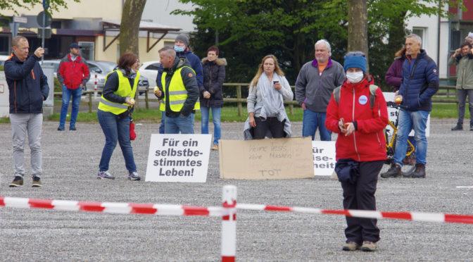 Querdenken Ravensburg: Zwischen Rechtsrock und »Volkszorn«