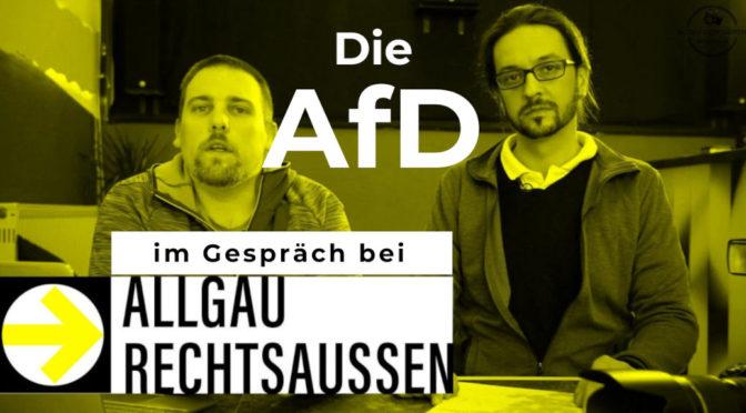 Ersatz-Livestream: Die AfD im Gespräch bei Allgäu rechtsaußen