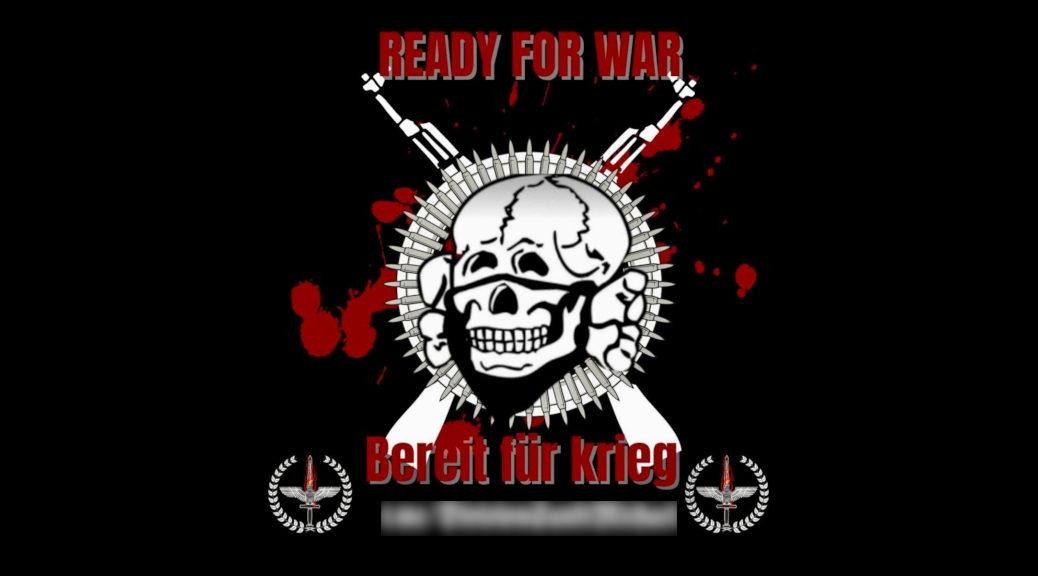 Auf Sharepics wirbt die Division Sankt Michael mit Sturmgewehren und NS-Bezug, sie sei »Bereit für Krieg«.