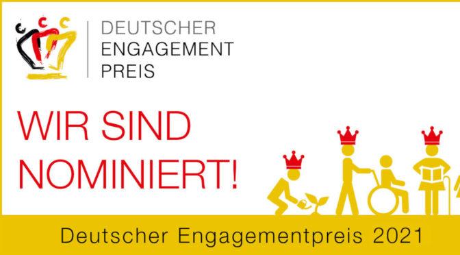 Allgäu rechtsaußen für Deutschen Engagementpreis 2021 nominiert