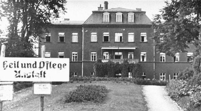 Hakenkreuz am Schützenheim