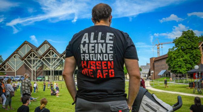 Memmingen rückt »zusammen gegen den Faschismus« der AfD