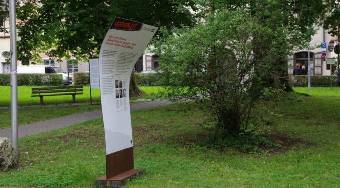Ausstellung über NS-Opfer beschädigt